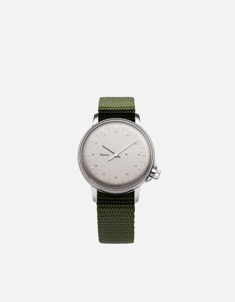 Miansai - M12 Swiss Silver Hunter Nylon
