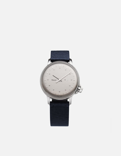 Miansai - M12 Swiss Silver Dusk Leather