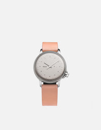 Miansai - M12 Swiss Silver Salmon Leather