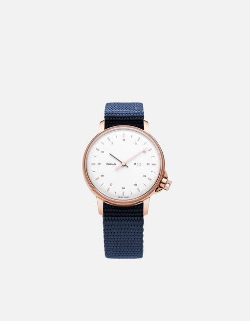 Miansai - M12 Swiss Rose|White Navy Blue Nylon