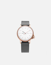 Miansai - M12 Swiss Rose|White Steel Leather