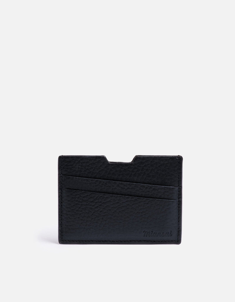 Modern Cardholder, Textured Navy | Men's Wallets | Miansai