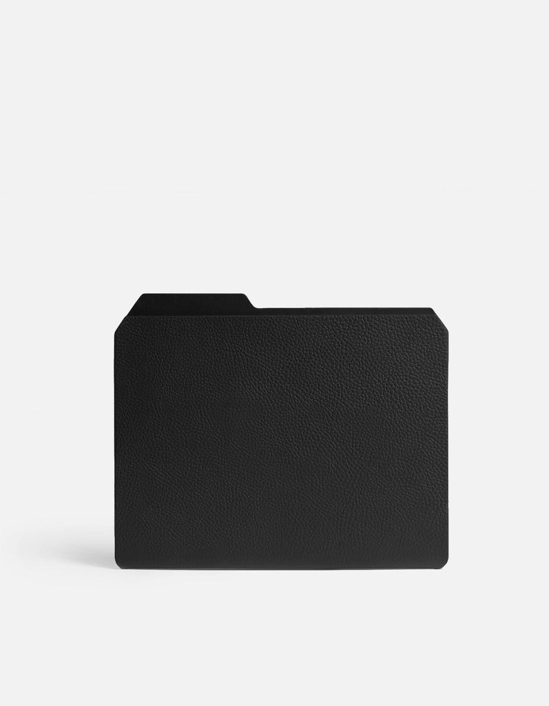 Folder, Textured Black | Men's Small Leather Goods | Miansai