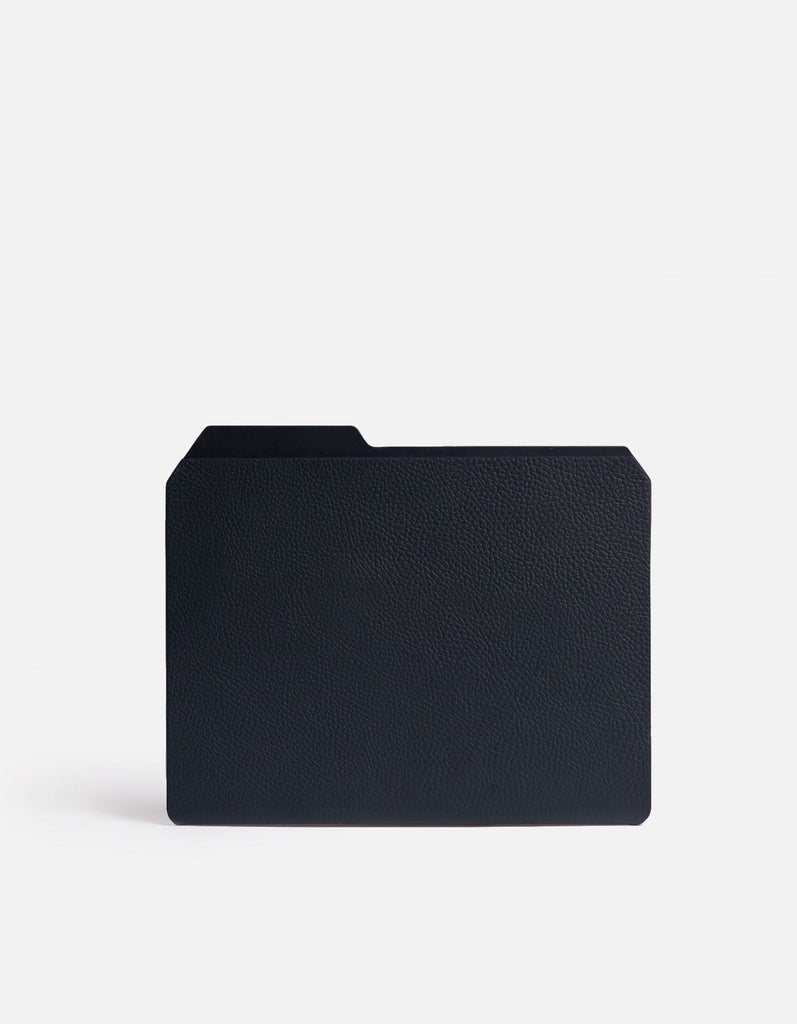 Folder, Textured Navy | Men's Small Leather Goods | Miansai