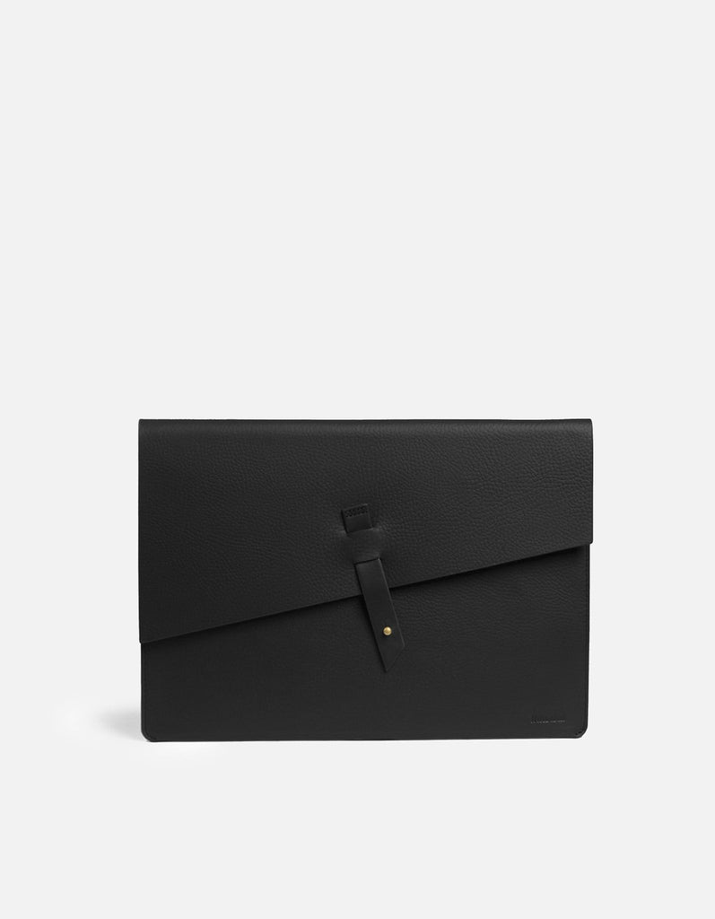 Portfolio, Textured Black | Men's Small Leather Goods | Miansai