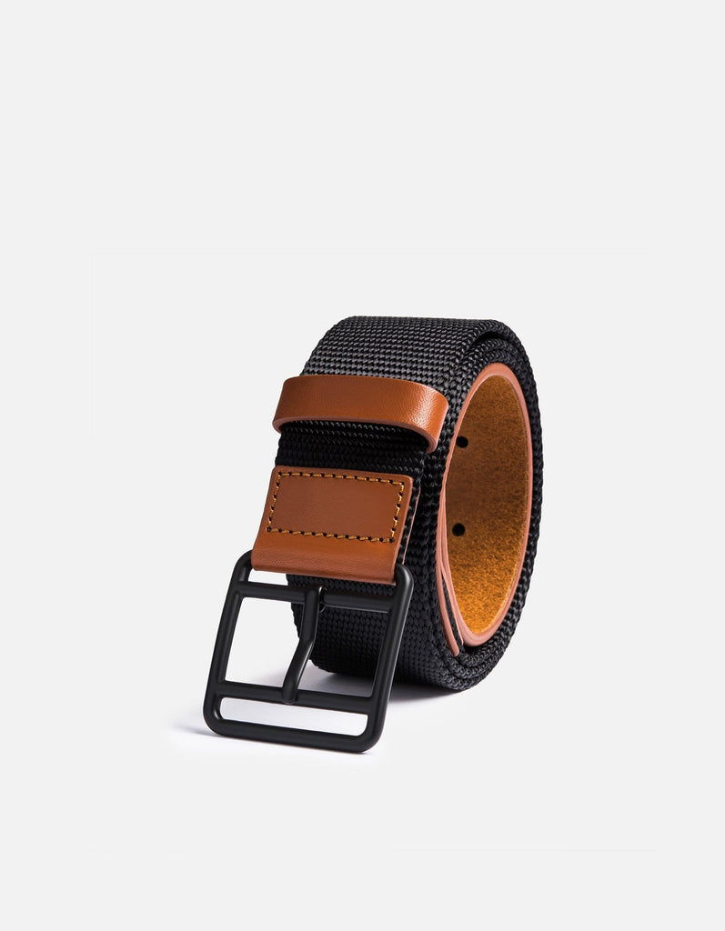 Miansai - Webbing Belt, Black/Brown