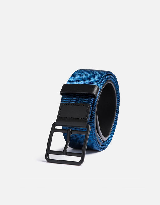 Webbing Belt, Navy/Black