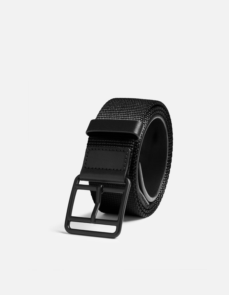 Webbing Belt, Black/Black | Men's Belts | Miansai