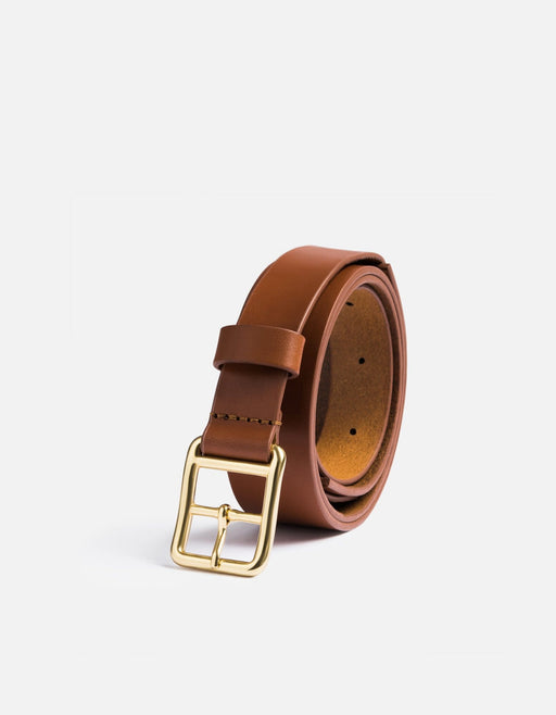 Skinny Belt, Cognac Leather | Men's Belts | Miansai