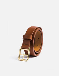 Miansai - Skinny Belt, Cognac Leather