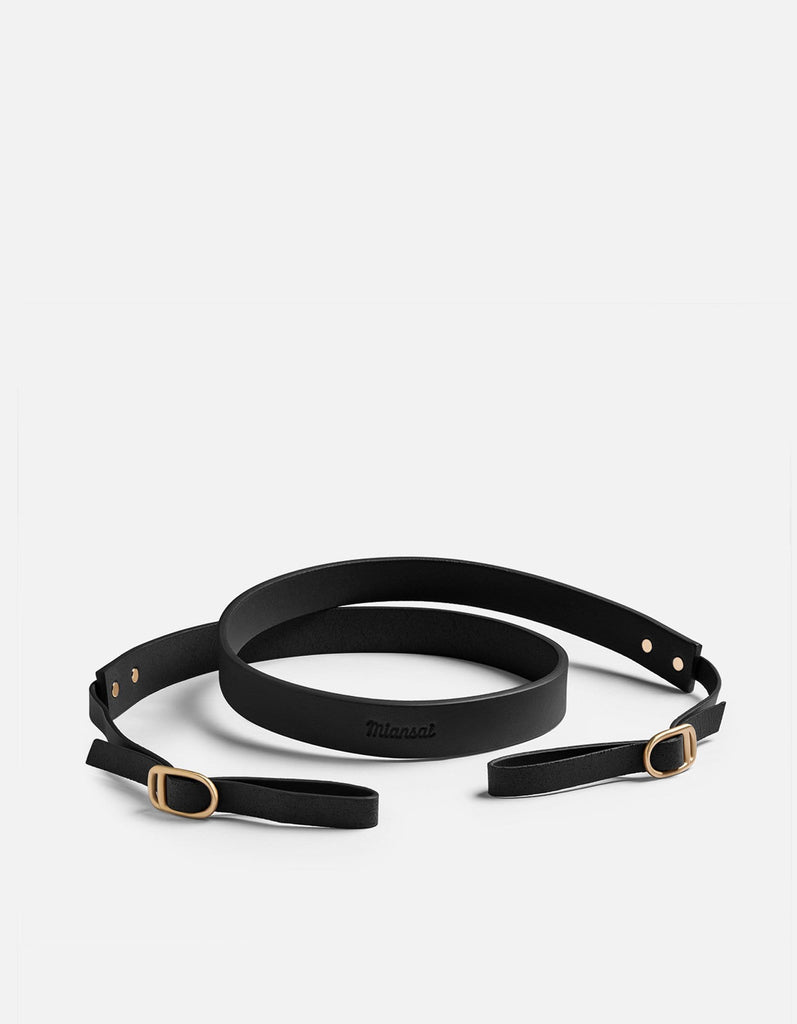 Miansai - Camera Strap, Black Leather
