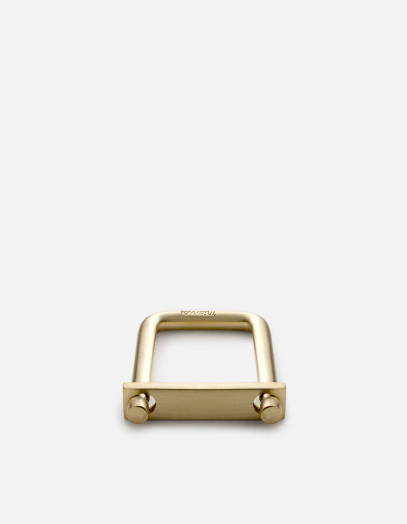 Flat Tension Keychain, Brass | Accessories | Miansai