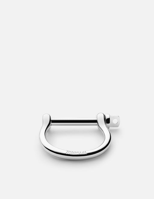 Miansai - Screw Cuff Keychain, Silver