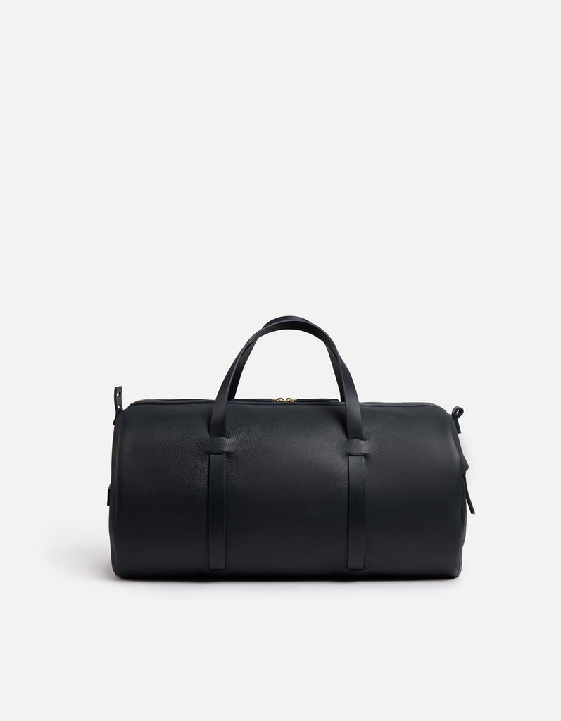 Duval Duffle, Navy Textured | Men's Leather Bags | Miansai