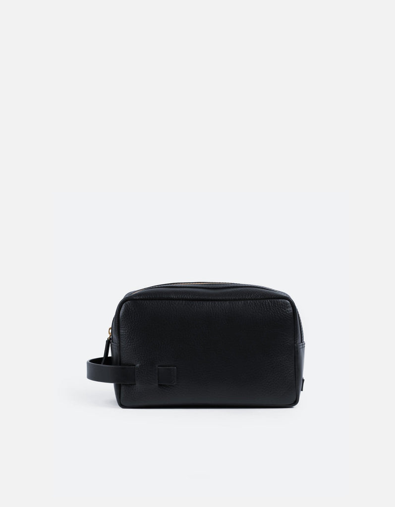 Lido Dopp Kit, Textured Navy | Men's Leather Bags | Miansai