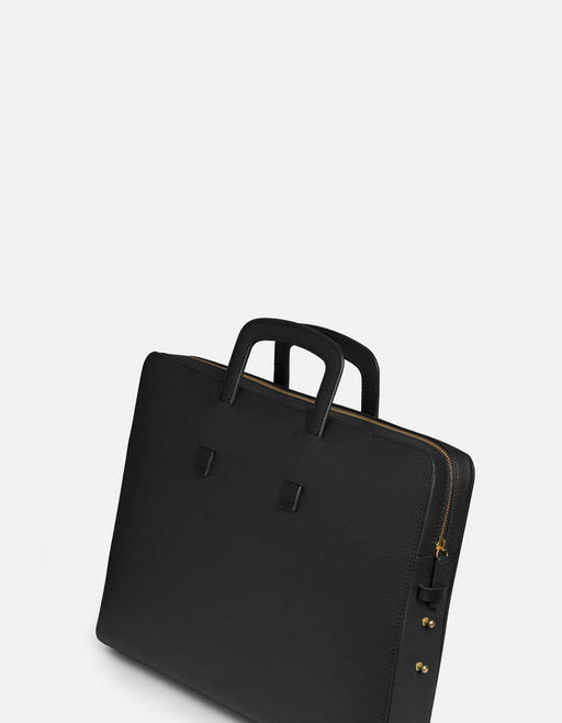 Miansai - Slim Briefcase, Textured Black