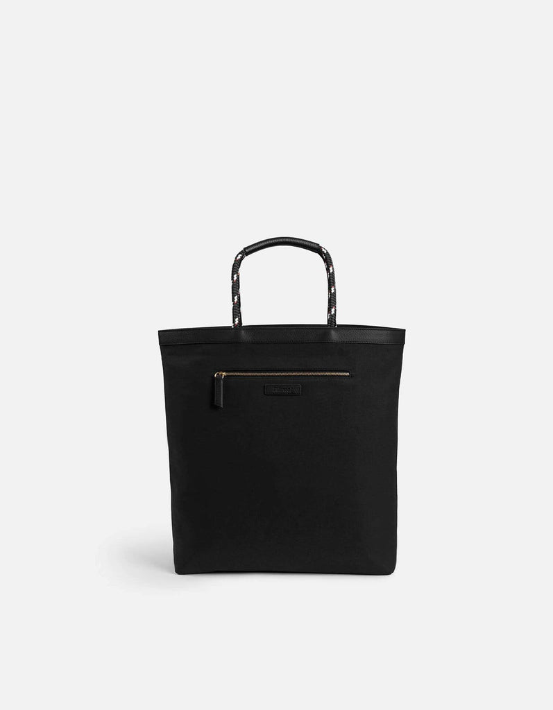 Beach Tote, Reversible Black/Off-White | Leather Bags | Miansai