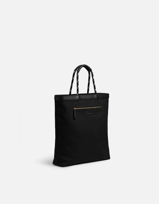 Miansai - Beach Tote, Black/Off-White