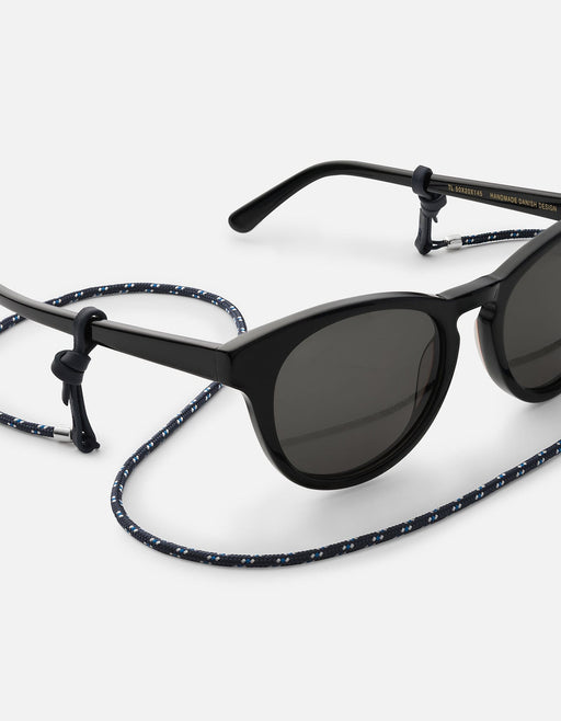 Miansai - Nexus Nylon Sunglass Cord, Sterling Silver