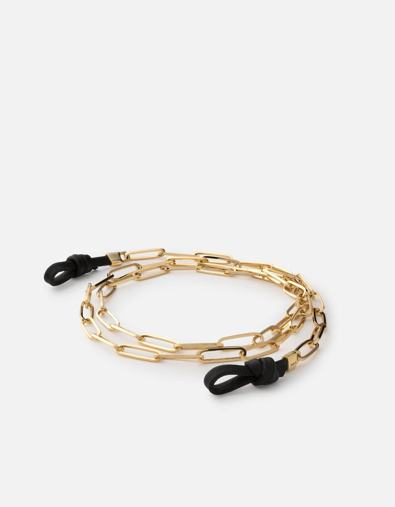 Volt Link Sunglass Chain, Gold | Men's and Women's | Miansai