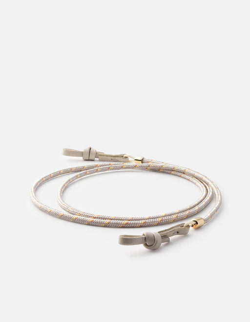 Nexus Nylon Sunglass Cord, Gold Vermeil | Dry Goods | Miansai