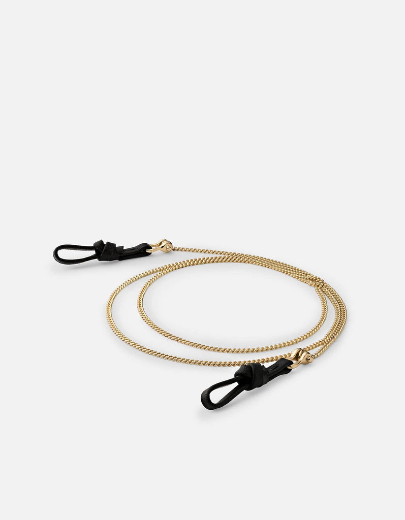Miansai - Cuban Link Sunglass Chain, Gold Vermeil