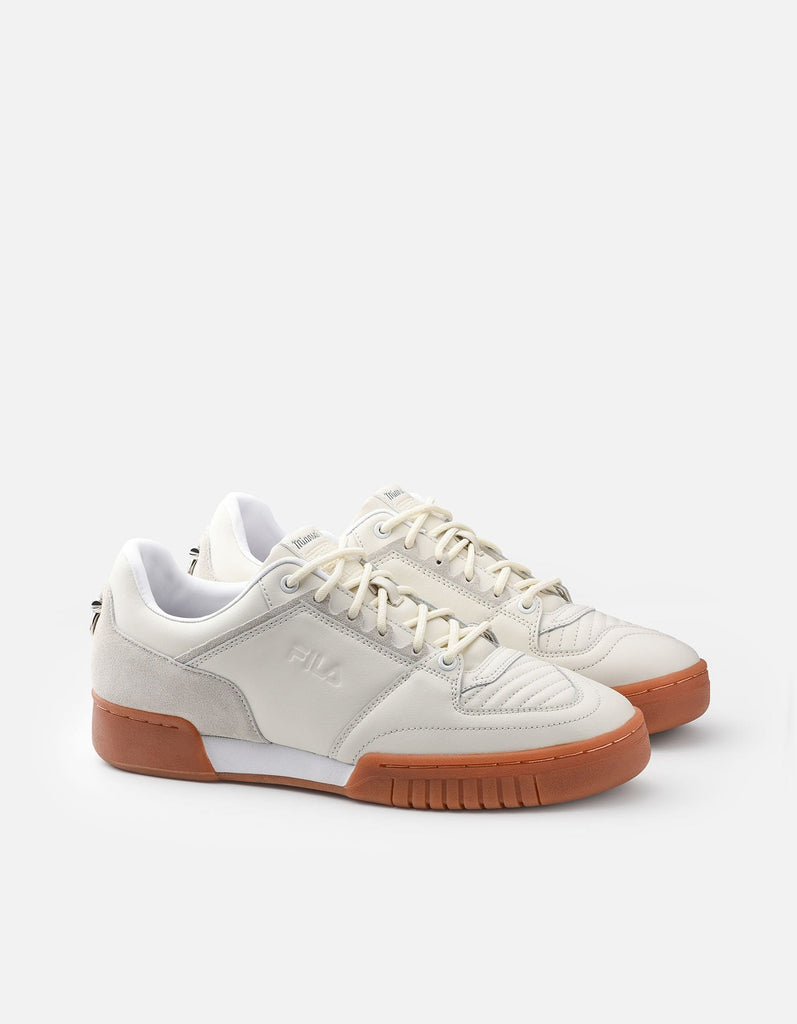 Targa FILA Leather Sneaker, Off-White | Dry Goods | Miansai