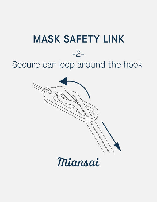 Mask Chain Safety, Sterling Silver | Dry Goods | Miansai
