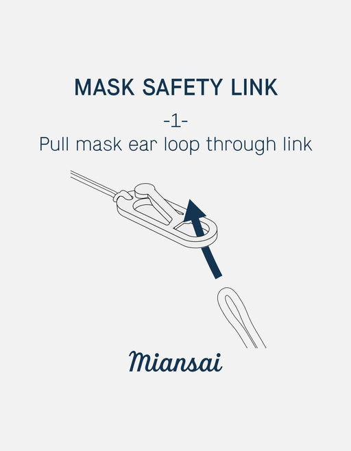 Mask Nexus Cord Safety, Sterling Silver | Dry Goods | Miansai