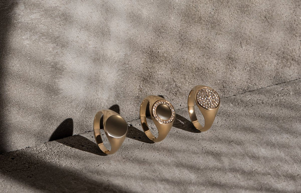 Fine Collection - Signet Rings