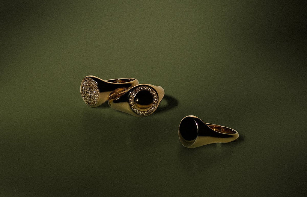 Women's Rings - Signet Rings