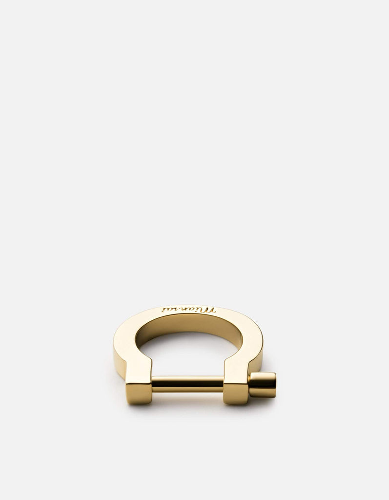 Miansai - Modern Screw Cuff Ring, 10k Gold