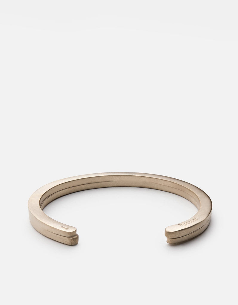 Miansai - Half-Layered Cuff, Brass