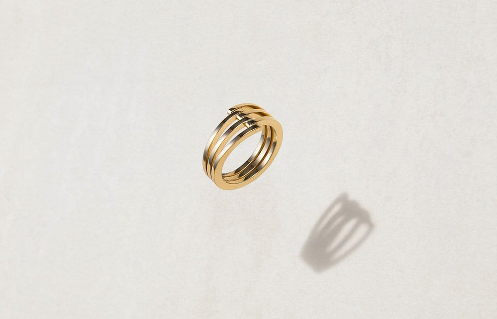 Shop Women's Rings - The Offset Ring
