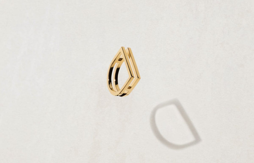 Shop Women's Rings - The Square Bar