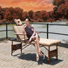 "Image of Master Massage 30"" Del Ray Salon Portable Massage Table Package with Therma-Top"
