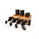 Master Massage 28 Piece Hot Stone Set 100% Basalt Rocks for Body Massage