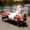 "Master Massage 25"" Fairlane Sports Portable Massage Table Package"