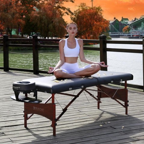 "Master Massage 30"" Roma LX Portable Massage Table Package"
