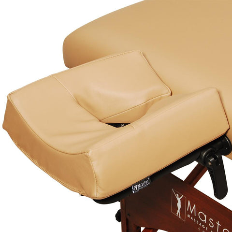 "Master Massage 30"" Deauville Salon LX Portable Massage Table Package with Lift Back Action"