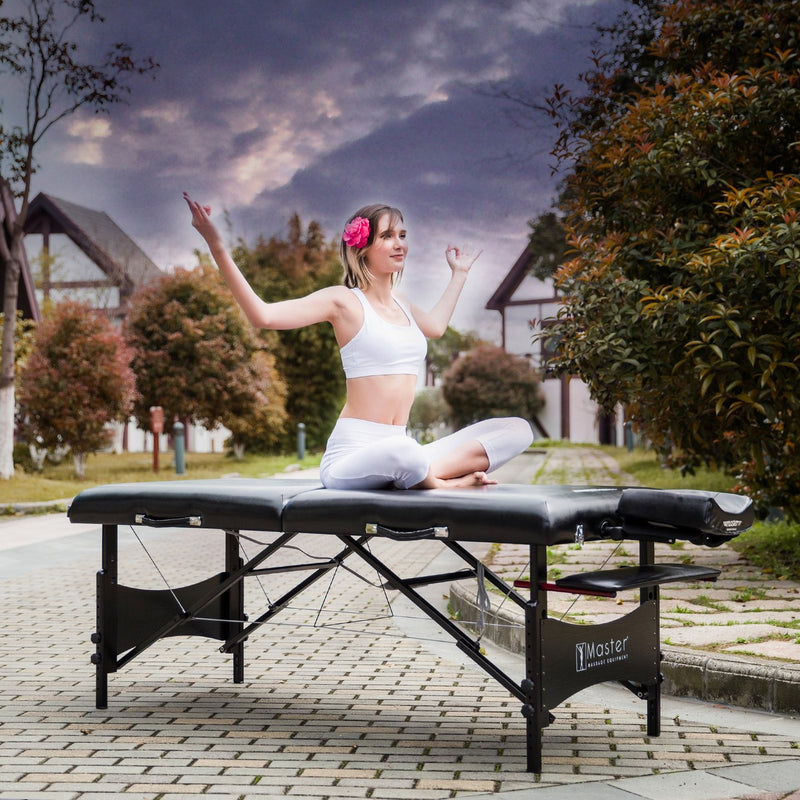 "Master Massage 30"" Galaxy Portable Massage Table Package"