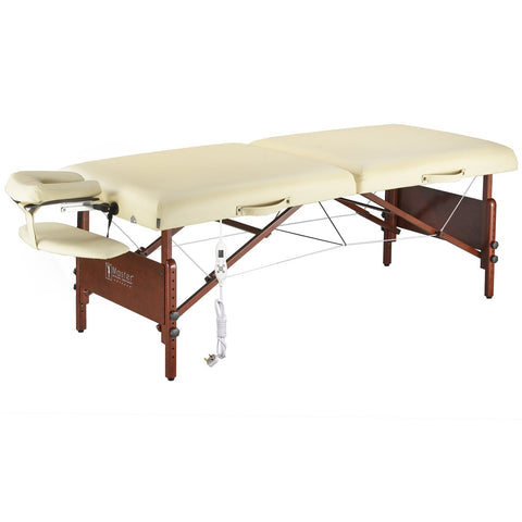 "Master Massage 30"" Del Ray Portable Massage Table Package with Therma-Top"