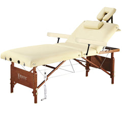"Master Massage 30"" Del Ray Salon Portable Massage Table Package with Therma-Top"