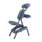 Master Massage The Professional Portable Massage Chair Package With Wheeled Case, Royal Blue