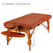"Master Massage 31"" Santana Portable Massage Table Package"