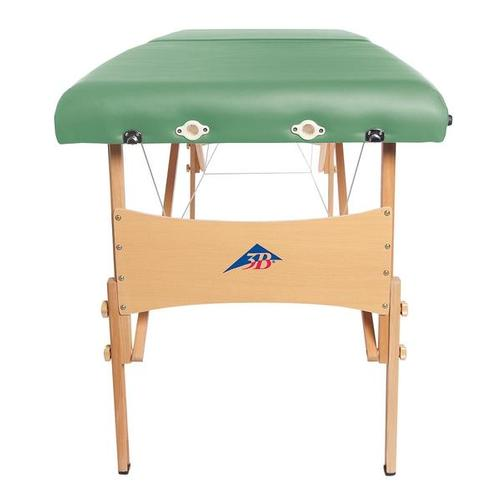 3B Deluxe Portable Massage Table - Green