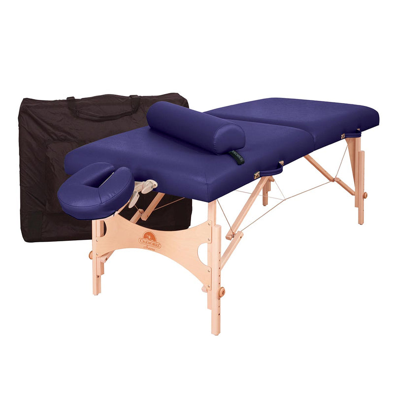 Oakworks Aurora Portable Massage Table Package