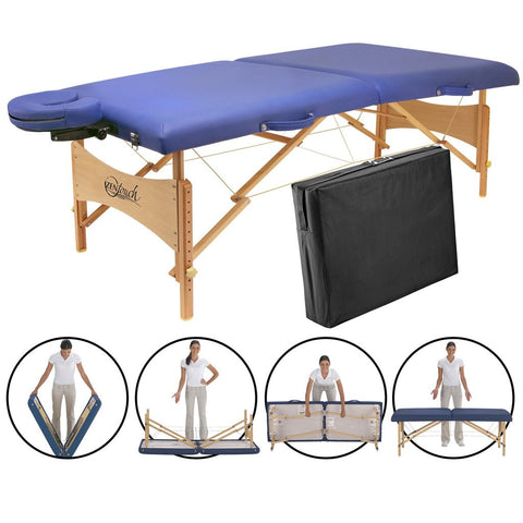 Master Massage BRADY Portable Massage Table Package - MyMassageTable