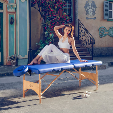 "Master Massage 27"" Brady Portable Massage Table Package"