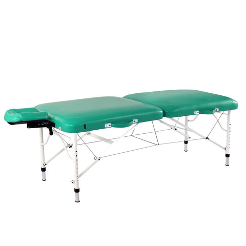 "Master Massage 30"" Calypso LX Portable Massage Table Package with Nanoskin"